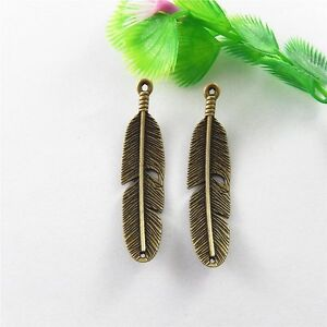20pcs Antiqued Bronze Alloy Elephant Head Charms Pendant Jewelry Crafts 51194