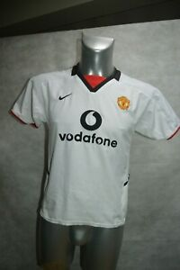 MAILLOT-FOOT-NIKE-MANCHESTER-UNITED-TAILLE-13-14-ANS-JERSEY-MAGLIA-BECKHAM-n-7