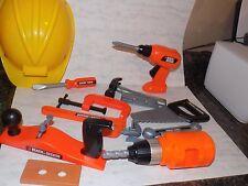 Pretend Play Tools Black & Decker Saws  Screw Driver + lot