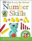 Bip, Bop, and Boo Get Ready for School: Number Skills by DK (Paperback / softback, 2016)