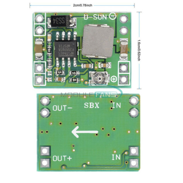 1//2//5//10PCS DC-DC Step Down Buck Converter Adjustable Power Supply BSG
