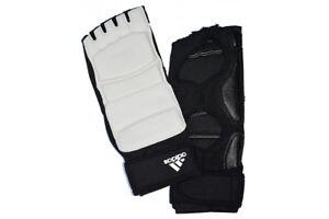 Adidas-World-Taekwondo-Foot-Socks-Instep-Guards-Protectors-Martial-Arts-Pair-WT