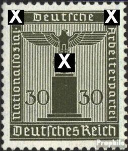 Deutsches-Reich-D164-Gefaelligkeitsentwertung-gestempelt-1942-Adler-auf-Sockel