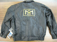 Vintage Go Kart Mcculloch Dart, Quality Leather Driving Jacket......xlnt. Item