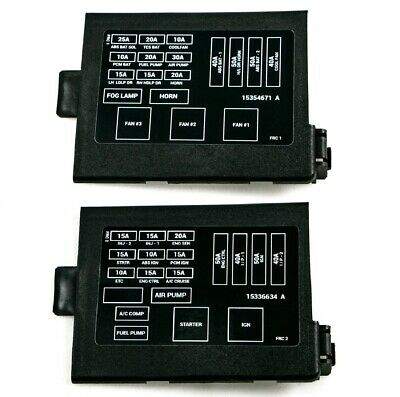 1998-2002 camaro firebird ls1 engine fuse box panel covers & decals  ht12176310-2 | ebay  ebay