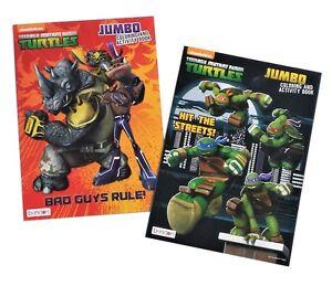 Teenage Mutant Ninja Turtles Coloring Book Activity Books TMNT ...