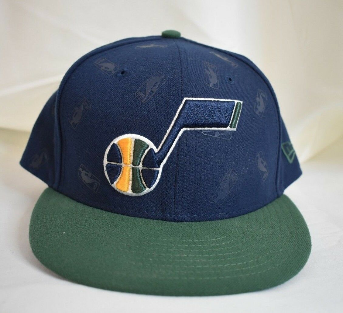 Mens Utah New Era 59Fifty NBA Utah Mens Jazz Basketball Fitted Hat Cap New 7 3/8 4a3928