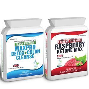 90-RASPBERRY-KETONES-30-COLON-CLEANSE-DETOX-PILLS-PLUS-WEIGHT-LOSS-DIETING-TIPS