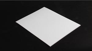 2pcs 2mm 150mmx150mmx2mm PTFE Teflon Sheet Plate White Engineering Plastic