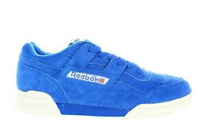 06c0549fced MEN S REEBOK WORKOUT PLUS VINTAGE BD3382 AWESOME BLUE CHALK WHITE DS ...