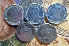 JAMAICA 1 Dollar Elizabeth II (heptagonal) 1994-2008 Nickel plated Steel 1 COIN