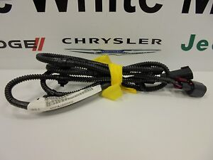 09 11 dodge ram trucks new underhood l jumper wiring harness mopar oem ebay