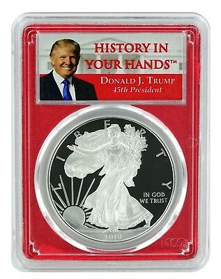 Made In USA Label 2019 W 1oz Silver Eagle Proof PCGS PR70 DCAM