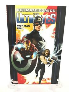 Ultimate-Comics-Ultimates-Volume-1-by-Hickman-Collect-1-6-Marvel-Comics-New-TPB