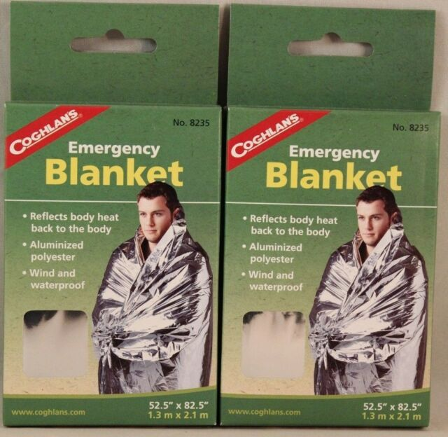 515ec66a28 Coghlan s Emergency Blanket for Camping Thermal Outdoors Survival Cold