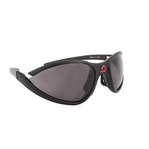 Dolomite-Occhiale-da-sole-sportivo-nero-con-lente-grigia-100-Made-in-Italy