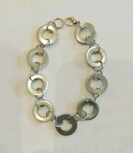 Details About Handmade Washer Bracelet
