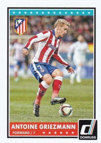 2015 Panini Donruss Soccer Sammelkarte #27 Antoine Griezmann