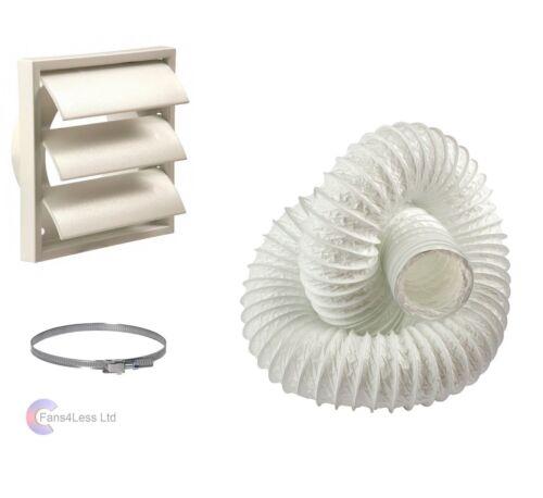 Tumble Dryer Kit 100mm Wall Vent Venting KIT