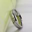 Anello-Fede-Fedina-Fidanzamento-Uomo-Donna-Acciaio-Inox-fascia-solitario miniatura 4