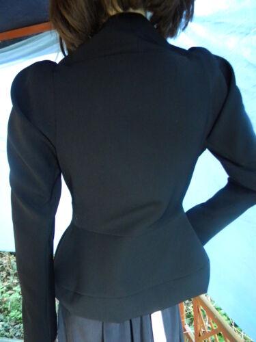 Jacket Mail Black Feminine Very Unique Haute Sublime Du 40 and Rue T Couture Paris wFfxpfq