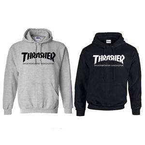 Fashion-Men-039-s-hoodie-sweater-Hip-hop-skateboard-Thrasher-Women-Sweatshirts-New