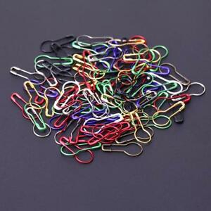 100Pcs-Pins-Gourd-Shape-Safety-Metal-Clips-Knitting-Stitch-Marker-Holder-Tag-Pin