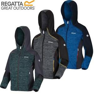 Regatta Kids Dissolver III Full Zip Insulated Fleece Jacket Hoodie Boys Girls