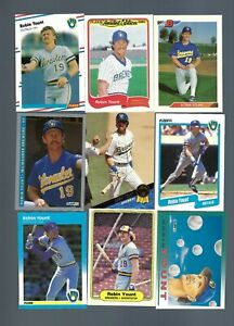 1982-94-47-cards-Robin-Yount-EXMT-NM-Topps-Donruss-Score-Fleer-Brewers
