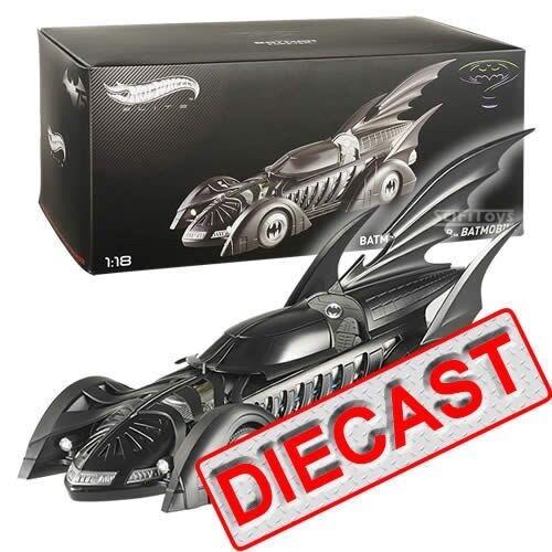 1 18 Batman Forever Diecast 1995 Batmobile Limited Edition Hot wheels Elite