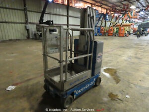 2013 Genie GR-20 Electric 20' Vertical Mast Lift Personnel Manlift -Parts/Repair