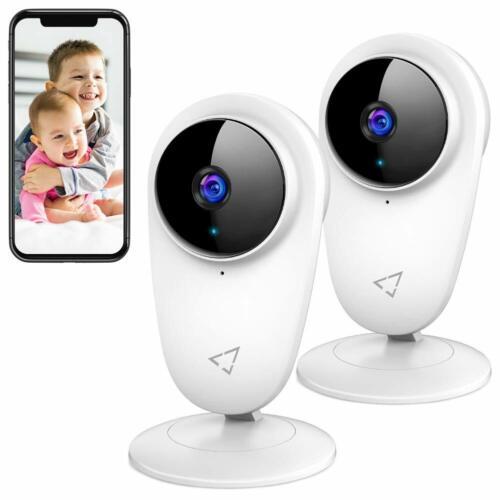 Victure WIFI Cámara IP 1080P Monitor de Bebé Mascota Cámara 2pc con detección de movimiento