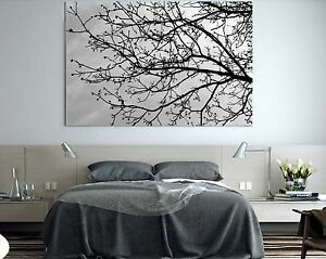 xxl leinwand bild 155x100x5 schwarz weiss ste natur gem lde lounge ikea premi r ebay. Black Bedroom Furniture Sets. Home Design Ideas