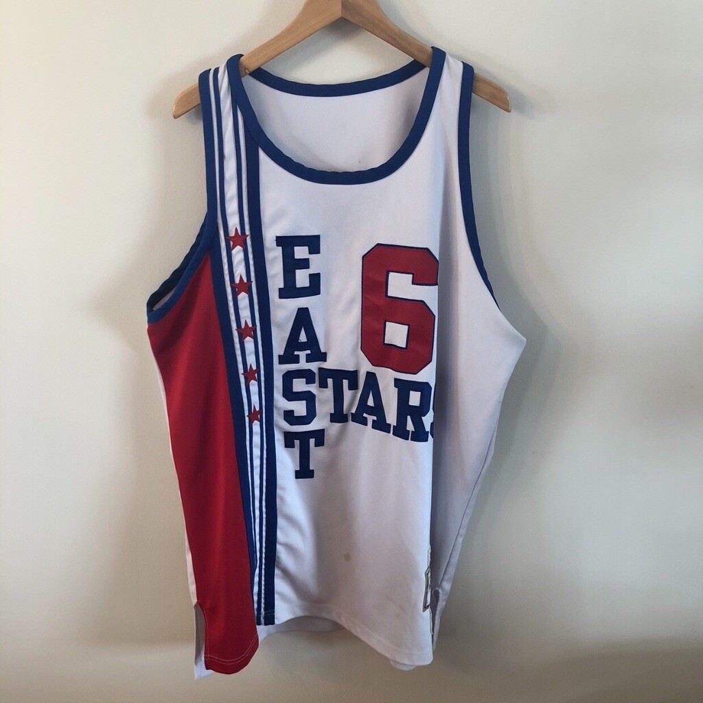 77-78 Julius Erving All Star Jersey