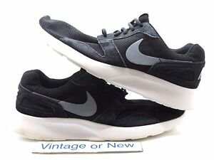 Men s Nike Kaishi Run Black Wolf Grey White Running Shoes 654473-001 ... 0fd33abcf2af