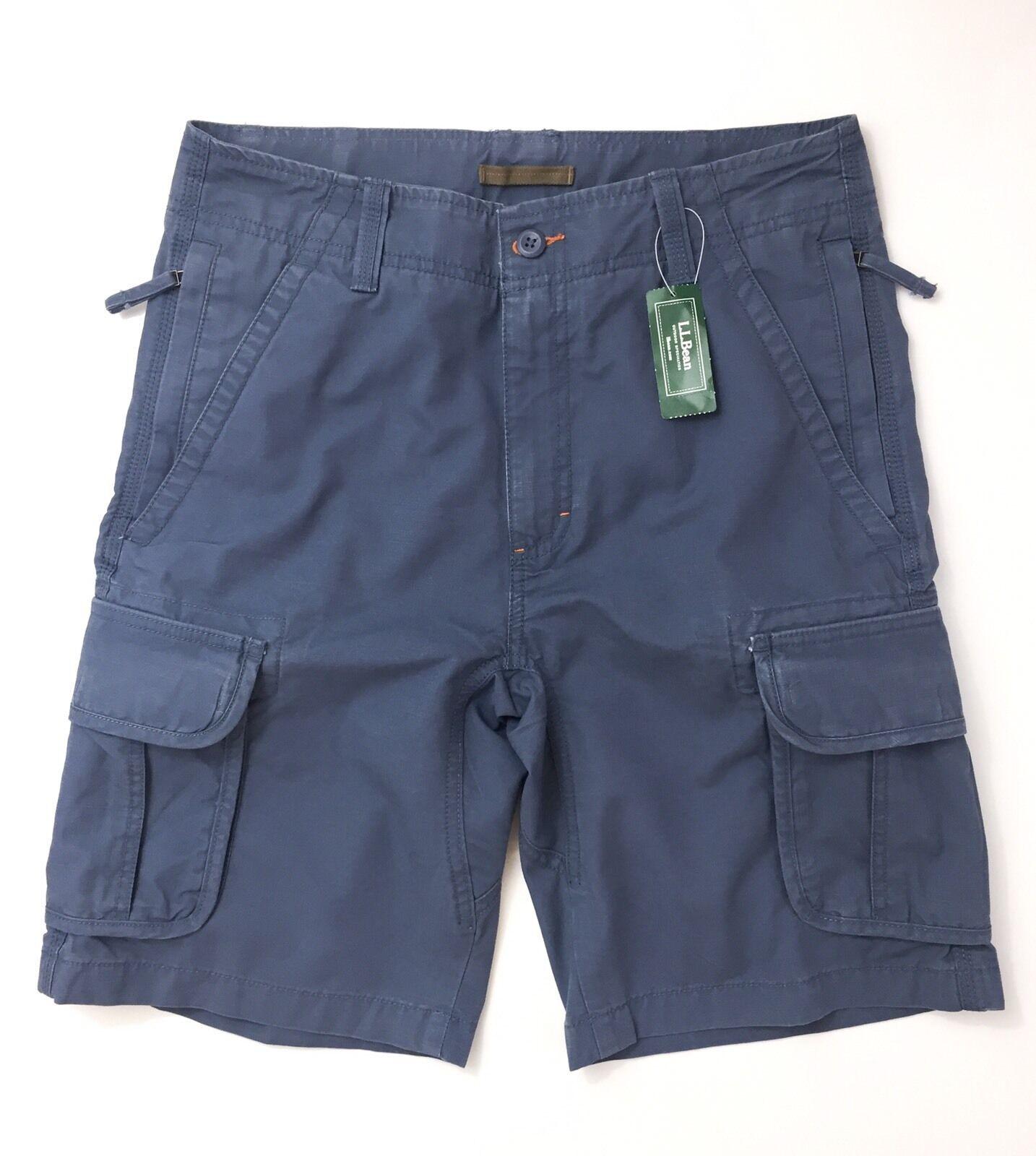 LL Bean Men's Allagash Cargo Shorts Size W30
