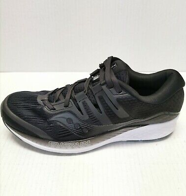 Saucony S10445-2 Ride ISO Wide Black Womens Running Shoes Sneakers