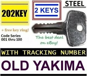 Details about OLD YAKIMA Non-SKS Replacement Key ROOF RACK Lock Bicycle  Crossbar Hitch Carrier