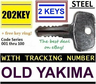 OLD YAKIMA Non-SKS Replacement Key ROOF RACK Lock Bicycle Crossbar Hitch Carrier