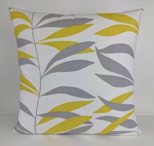 "John Lewis Lina Cushion Cover 16/"" or 18/"" Cushion Cover Double Sided Handmade"