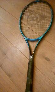 Utile Dunlop Mid Plus Graphite Solution Raquette De Tennis Sport Gym Très Bon état-afficher Le Titre D'origine