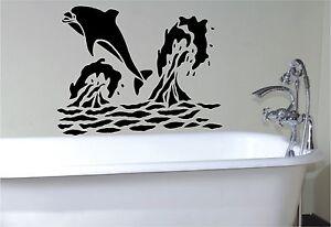 Dolphin-stencil-style-wall-art-sticker-decal-bathroom