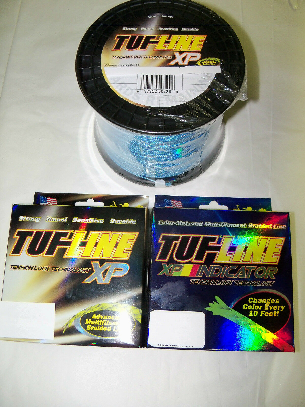 TUF LINE XP - 40 LB - PREMIUM SUPER BRAID - 300 YARDS