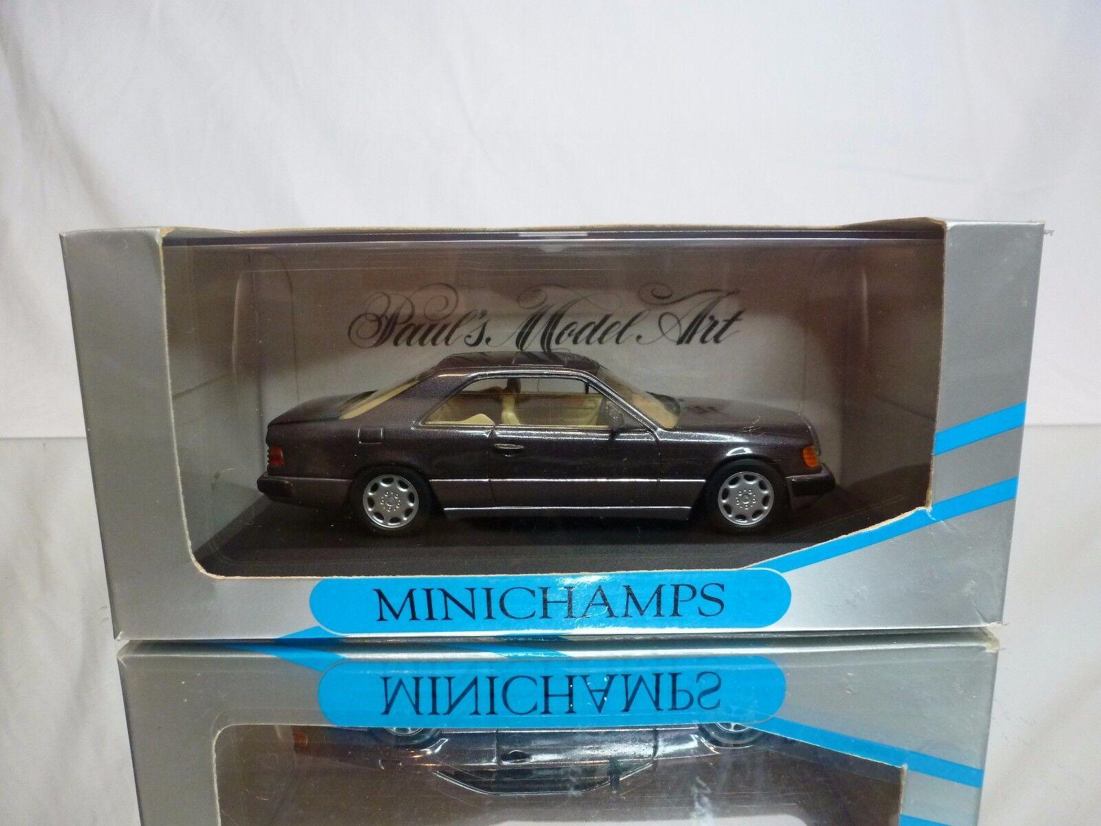 MINICHAMPS 3414 MERCEDES BENZ 300 CE 24 COUPE - BORNITE 1 43 - GOOD IN BOX