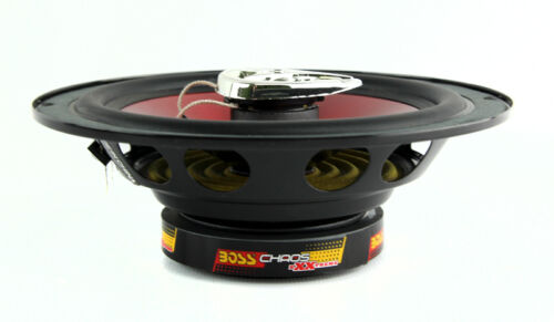 """NEW BOSS CH6520 CHAOS 6.5/"""" 250W 2-Way Car Coaxial Audio Speakers Red PAIR 2"""