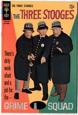 The Three Stooges #40 (Gold Key 1968; vf/nm) guides at $45.00 (£35.00)