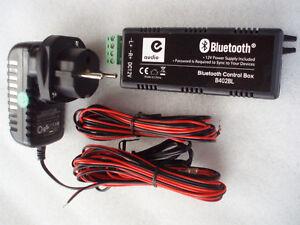 Bluetooth Verst/ärker 4/x 15/W mit Netzteil und AUX Eingang