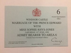 1999-The-Royal-Wedding-Prince-Edward-amp-Sophie-Rhys-Jones-Ticket-Windsor-Castle