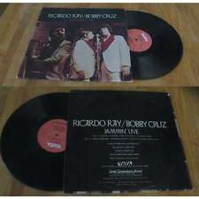 RICARDO RAY / BOBBY CRUZ - Jammin' Live LP US Press Salsa Boogaloo Vaya 1972