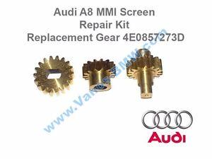 Audi A8 MMI Screen Repair Kit Replacement Gear 4E0857273D